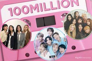 17 MV K-Pop đạt 100 triệu lượt xem nhanh nhất: BTS áp đảo Blackpink và TWICE