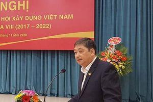 Ông Đặng Việt Dũng nhận chức Chủ tịch Tổng hội Xây dựng Việt Nam