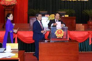 Hải Phòng, Hậu Giang, Sóc Trăng bầu Chủ tịch và Phó Chủ tịch UBND tỉnh, thành phố