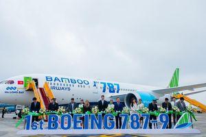 Bamboo Airways sẽ bay thẳng đến Mỹ bằng Boeing 787-9 Dreamliner