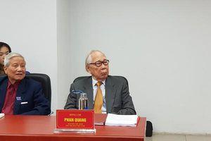Nhà báo Phan Quang với báo chí cách mạng Việt Nam