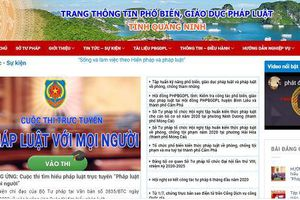 Để Quảng Ninh luôn là điểm đến an toàn, thân thiện: Bài 1 – Nâng cao vai trò của công tác giáo dục tuyên truyền phổ biến pháp luật