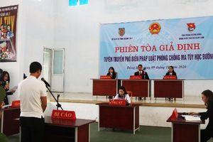 Sở Tư pháp Quảng Bình tổ chức phiên tòa giả định hưởng ứng Ngày Pháp luật