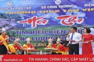 Lan tỏa kiến thức sử dụng năng lượng trong trường học ở Hà Tĩnh