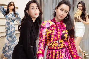 Mấp mé tuổi 40, Lưu Hương Giang chẳng cần diện hở vẫn hút sóng bởi gout thời trang tinh tế