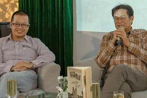 Nhạc sĩ Dương Thụ 'tay đôi' với nhà văn Uông Triều về Hà Nội