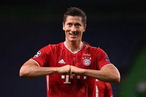 Lewandowski được bầu chọn là cầu thủ xuất sắc nhất thế giới năm 2020