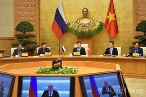 Việt Nam – Nga: Đưa quan hệ đối tác chiến lược toàn diện đi vào thực chất, có hiệu quả