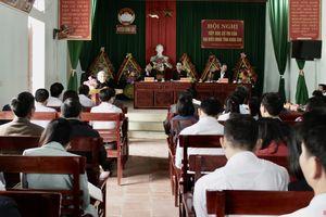 Tổ đại biểu HĐND tỉnh tiếp xúc cử tri huyện Vĩnh Lộc