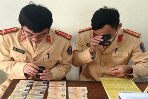 Phát hiện hàng trăm giấy phép lái xe giả ở Thanh Hóa