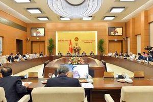 Công bố 5 nghị quyết của Ủy ban Thường vụ Quốc hội về nhân sự
