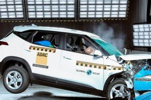 Kia Seltos giá rẻ đẹp long lanh đạt điểm 3 sao về độ an toàn