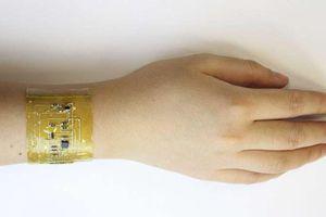 Ngỡ ngàng công nghệ da điện tử có thể tự vá lành và đo nhịp tim