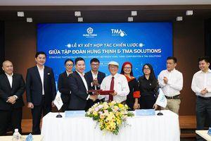 Tập đoàn Hưng Thịnh ký kết hợp tác chiến lược cùng công ty TMA Solutions