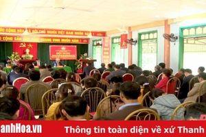Tổ đại biểu HĐND tỉnh tiếp xúc cử tri huyện Quan Hóa
