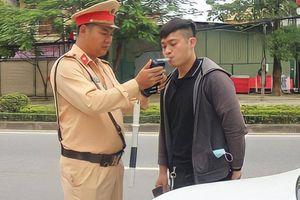 Nghệ An: Xử tài xế 'ma men' bất kể ngày đêm