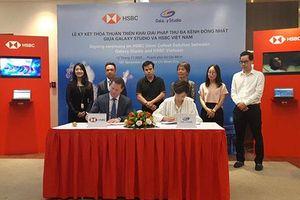 HSBC Việt Nam cung cấp giải pháp thu đa kênh cho Galaxy Studio