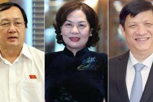 Quốc hội phê chuẩn ba thành viên mới của Chính phủ, Ngân hàng Nhà nước có nữ thống đốc đầu tiên