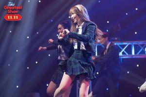 Min thể hiện 'Trên tình bạn dưới tình yêu' tại Tiki Greatest Show