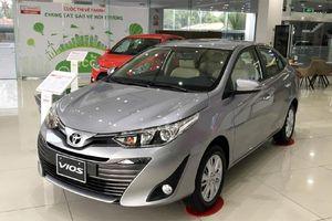 Giá xe ô tô hôm nay 13/11: Toyota Vios thấp nhất ở mức 470 triệu đồng