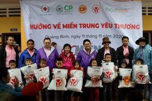 C.P Việt Nam tiếp tục hỗ trợ đồng bào miền Trung