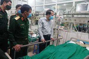 Hai chiến sĩ thương vong khi làm nhiệm vụ rà phá bom mìn
