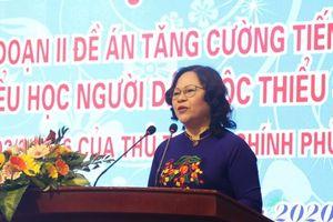 Tăng cường tiếng Việt dựa trên tiếng mẹ đẻ và giữ bản sắc văn hóa các dân tộc
