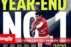 Novak Djokovic san bằng kỷ lục của Pete Sampras