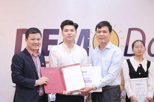'Ứng dụng sức khỏe trên thiết bị điện tử' đạt giải nhất cuộc thi Pitching khởi nghiệp