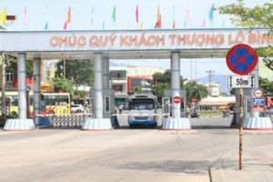 Tạm ngưng vận tải khách đi đến Đà Nẵng từ 11h trưa mai (14/11)