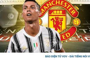 Đội hình đẹp như mơ của MU khi mua lại Cristiano Ronaldo từ Juventus