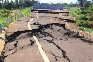 Khởi tố một kỹ sư trong vụ đường gần 250 tỷ vừa làm xong đã 'toang hoác' ở Gia Lai