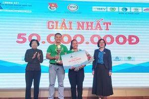 Dự án khởi nghiệp thanh niên nông thôn 2020: Mật hoa dừa Sokfarm đạt giải Nhất