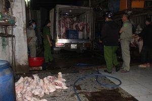 Phát hiện ba cơ sở giết mổ lợn lậu ở Đồng Nai