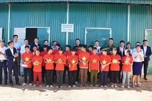 Khánh thành nhà nội trú Trường PTDT bán trú THCS Huổi Mí