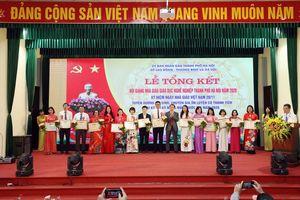 Hà Nội tôn vinh, trao giải cho nhà giáo dục nghề nghiệp tiêu biểu