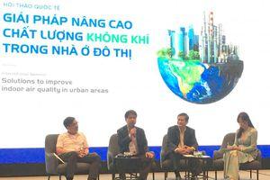 Tìm giải pháp nâng cao chất lượng không khí trong nhà ở đô thị