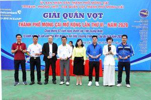 Giải quần vợt TP Móng Cái mở rộng lần thứ VI