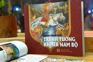 Cuộc đời đức Phật qua tranh tường Khmer Nam Bộ