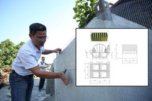 Người Hà Nội thiết kế nhà chống lũ tự nổi chỉ 25 triệu đồng tặng đồng bào miền Trung