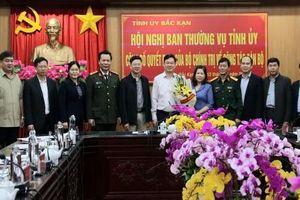 Bộ Chính trị chuẩn y các chức danh lãnh đạo Tỉnh ủy Bắc Kạn
