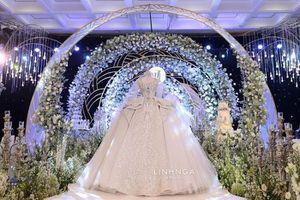 Xoài Non mặc váy cưới giá 28 tỷ đồng trong đám cưới với streamer Xemesis