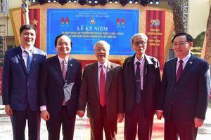 Tổng Bí thư, Chủ tịch nước dự kỷ niệm 70 năm thành lập Trường Nguyễn Gia Thiều