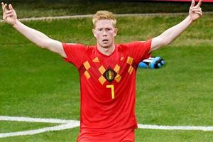Hazard nghỉ, De Bruyne tiếp tục 'gánh' Bỉ