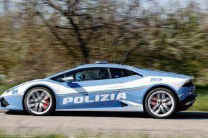 Cảnh sát Ý dùng Lamborghini để đưa gấp một quả thận đến bệnh viện