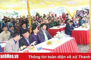 Bí thư Thị ủy Nghi Sơn Trần Văn Hải dự Ngày hội Đại đoàn kết toàn dân tộc tại xã Các Sơn