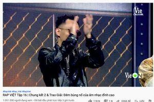 Rap Việt có thực sự là 'chương trình có lượt xem trực tiếp trên YouTube cao nhất thế giới'?