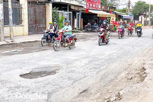 'Bẫy' trên đường Nguyễn Tri Phương