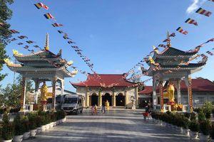 Vĩnh Long : Tổ đình Phật Quang khánh tạ Tam bảo