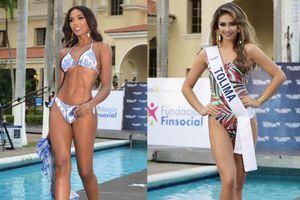 Thí sinh Hoa hậu Hoàn vũ Colombia 2020 thi áo tắm